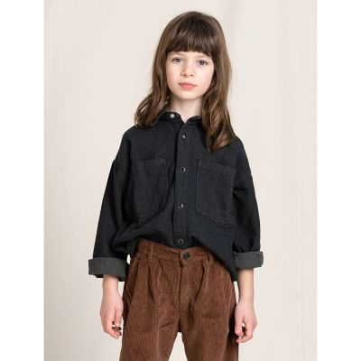 Shirt Magali Ash Black by Finger in the Nose
