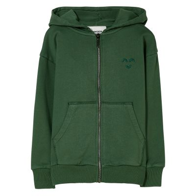 Zip Hoodie Joey Khaki Green by Finger in the Nose