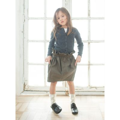 Water Repellent Skirt Khaki by Fith