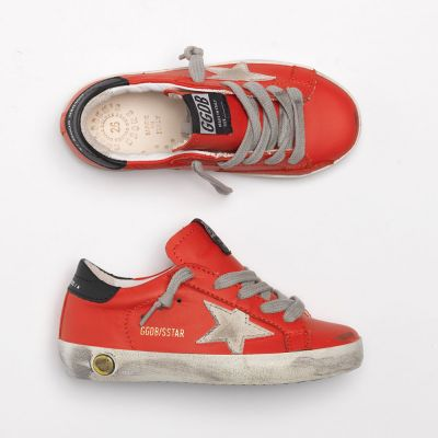 Sneakers Superstar Cherry Leather Ice Suede Star