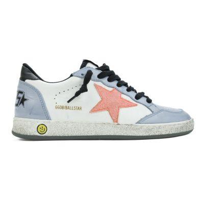 Sneaker Ballstar White Grey Peach Star-24EU