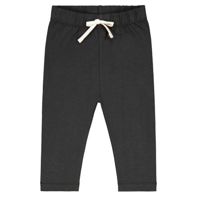 Baby Leggings Nearly Black by Gray Label