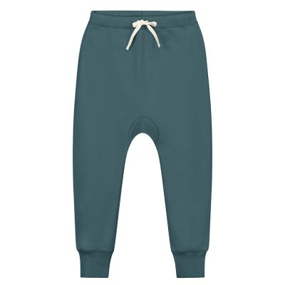 Baby Baggy Pant Blue Grey by Gray Label-24M