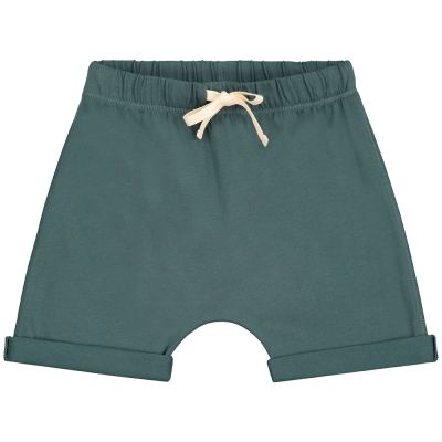 Baby Baggy Shorts Blue Grey by Gray Label