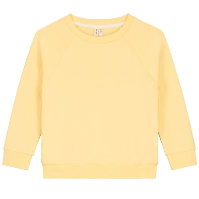 Crewneck Sweater Mellow Yellow by Gray Label-3Y
