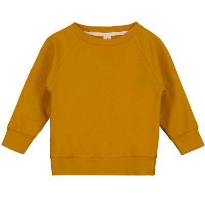 Crewneck Sweater Mustard by Gray Label-3Y