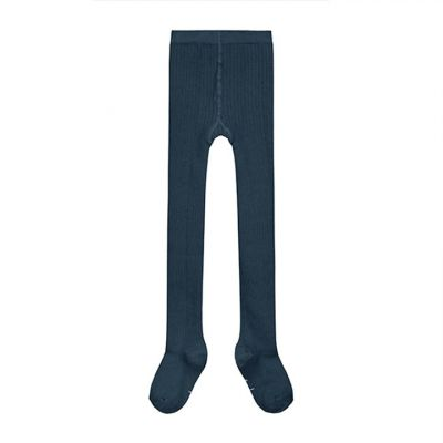 Ribbed Tights Blue Grey by Gray Label-18EU