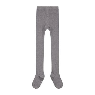 Ribbed Tights Grey Melange by Gray Label