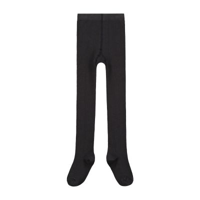 Ribbed Tights Nearly Black by Gray Label