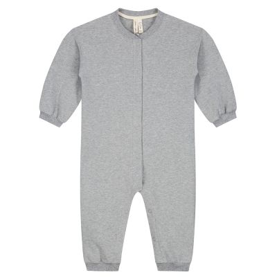 Baby Baseball Suit Grey Melange by Gray Label