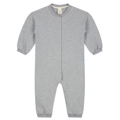 Baby Baseball Suit Grey Melange by Gray Label-3M