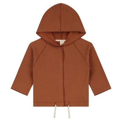 Baby Hooded Cardigan Autumn by Gray Label
