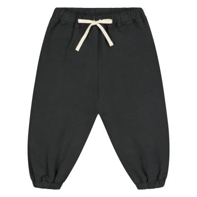 Baby Track Pants Nearly Black by Gray Label