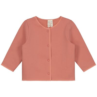 Baby Cardigan Faded Red by Gray Label