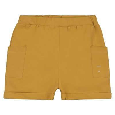 Relaxed Pocket Baby Shorts Mustard by Gray Label-18M