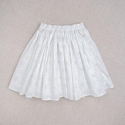 Skirt Carmen Teal Print by Ketiketa