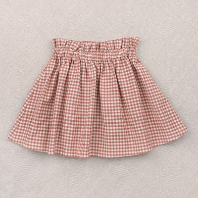 Skirt Simone Pink Gingham Check by Ketiketa