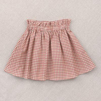 Skirt Simone Pink Gingham Check by Ketiketa-4Y