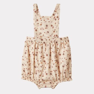Baby Romper Clam Ditsy Floral Print by Caramel-3M