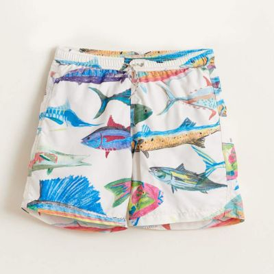 Swimwear Lazo Fish Print by Bellerose-4Y