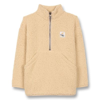 Sweatshirt Lazybear Ecru by Finger in the Nose