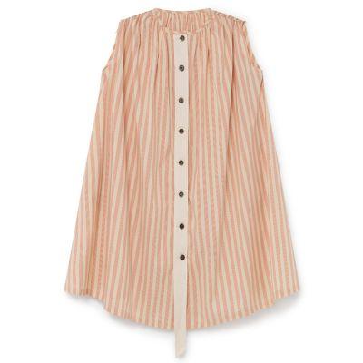 Carrousel Sundress Orange Stripes by Little Creative Factory-4Y