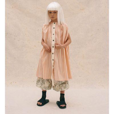 Carrousel Sundress Orange Stripes by Little Creative Factory