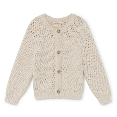 Cotton Candy Cardigan Cream by Little Creative Factory