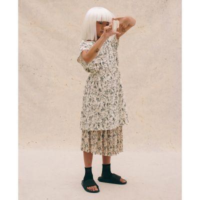 Soft Tattoo Dress Cream by Little Creative Factory