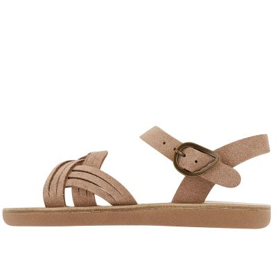 Little Electra Sandals Crosta Rose by Ancient Greek Sandals