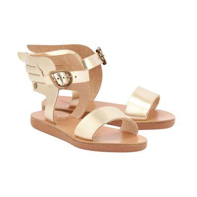 Little Ikaria Sandals Platinum by Ancient Greek Sandals