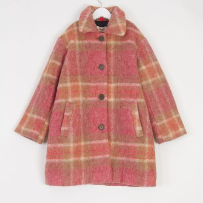 Coat Tango Berry Check by MAAN