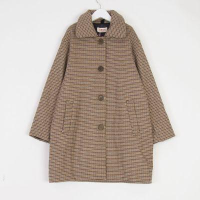 Coat Tango Caramel Check by MAAN-6Y