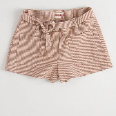 Shorts Lady Caramel Stripes by MAAN