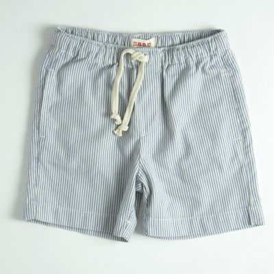 Shorts Letter Blue Stripes by MAAN