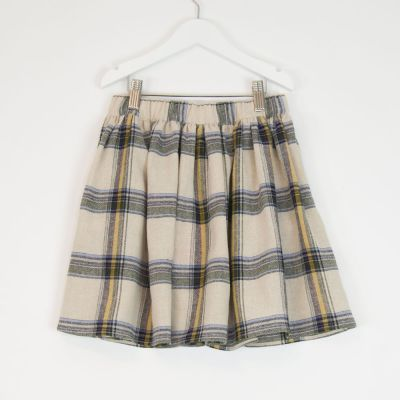 Skirt City Yellow Check by MAAN