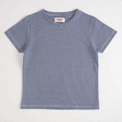 T-Shirt Blue Stripe by MAAN