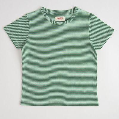 T-Shirt Green Stripe by MAAN