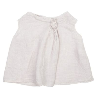 Linen Top Coco Lilac by Manuelle Guibal