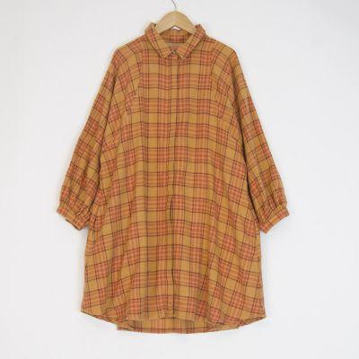 Dress Oregon Melton Orange Check by Morley