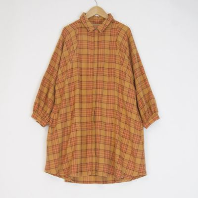 Dress Oregon Melton Orange Check by Morley-6Y