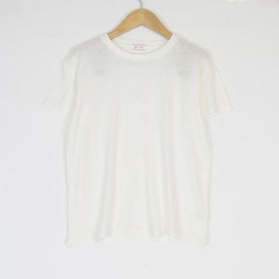 Soft T-Shirt Nixon White by Morley-4Y