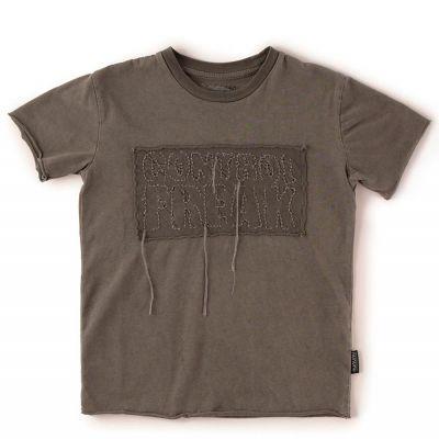 Baby T-Shirt Control Freak Vintage Grey by nununu-18M