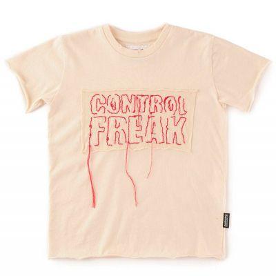 T-Shirt Control Freak Natural by nununu-2/3Y