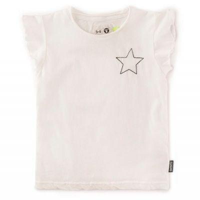 Ruffled Shirt White by nununu