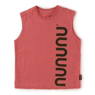 Sleeveless Shirt Vintage Red by nununu