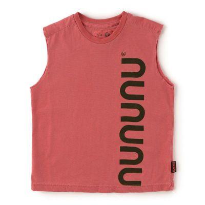 Sleeveless Shirt Vintage Red by nununu-2/3Y