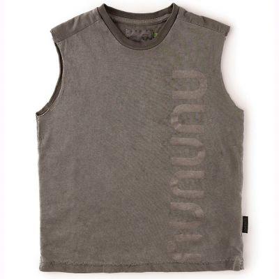 Sleeveless Shirt Vintage Grey by nununu-2/3Y