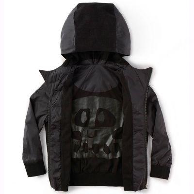 Hooded Wind Jacket by nununu
