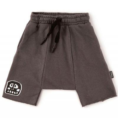 Rowdy Mask Patch Harem Shorts Iron by nununu-2/3Y